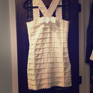 Marc Jacobs White Mini Dress - in Gossip Girl